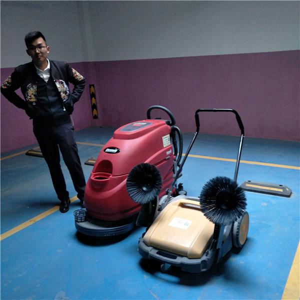 洗地机案例之昆明筑远物业服务有限公司